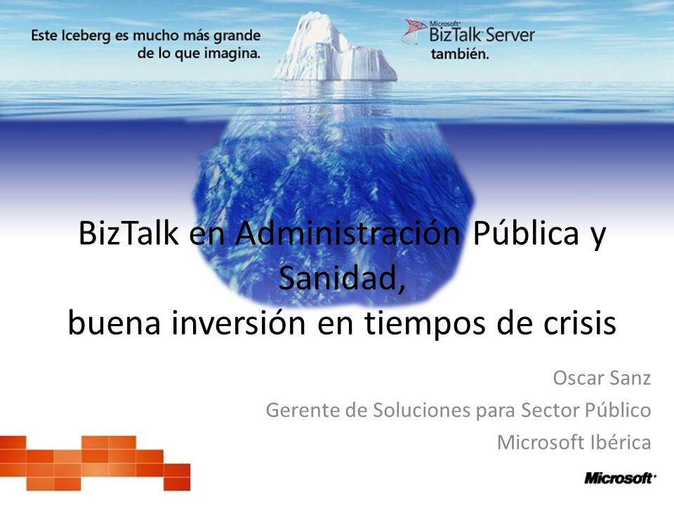 Oscar Sanz Gerente de Soluciones para Sector Público Microsoft Ibérica