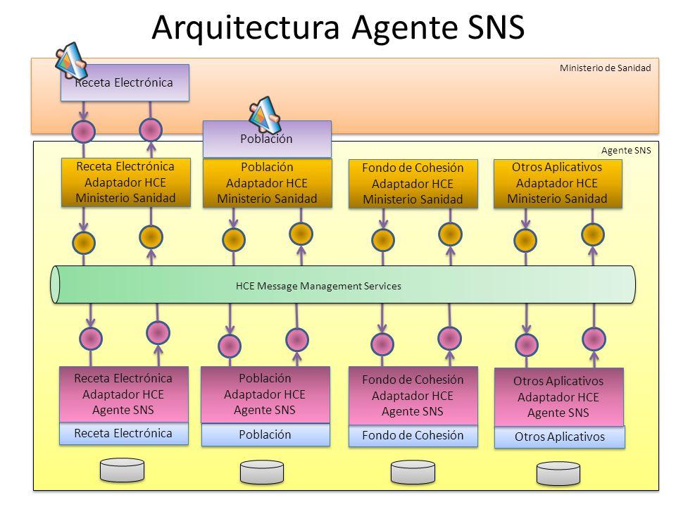Arquitectura Agente SNS