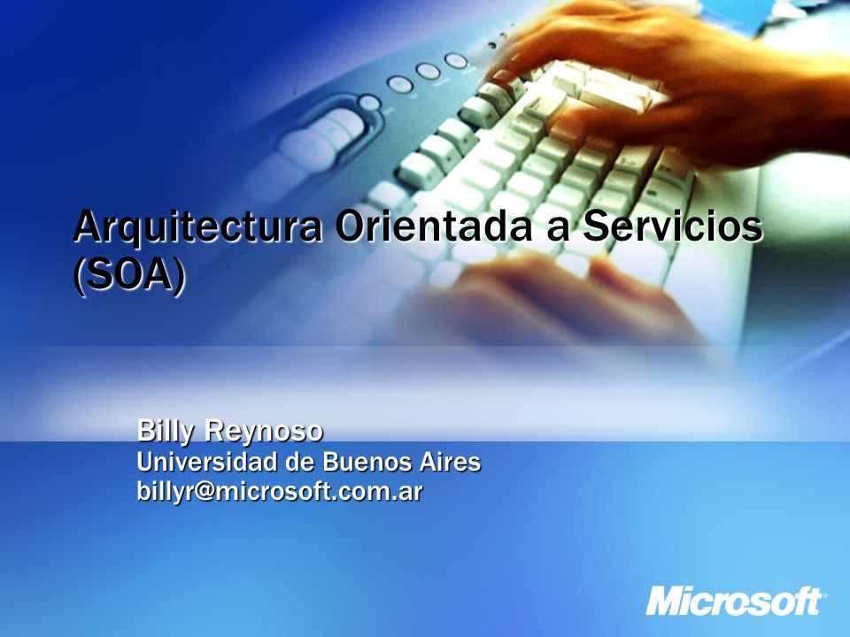 Arquitectura orientada a servicios soa ppt video for Arquitectura orientada a servicios