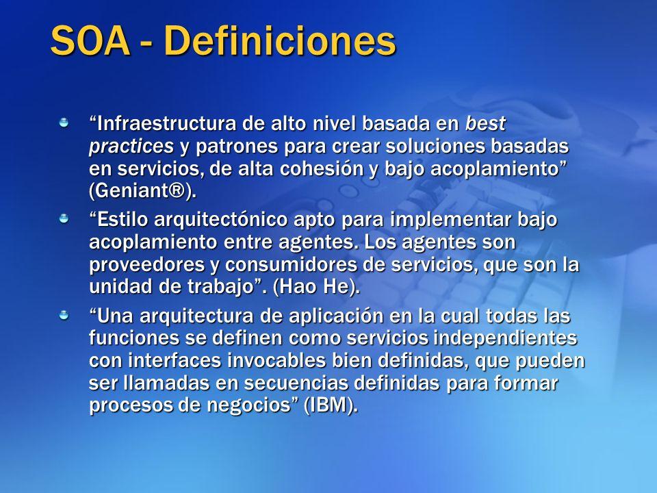 SOA - Definiciones