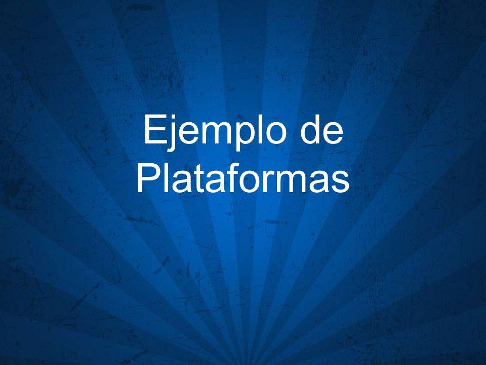 Ejemplo de Plataformas