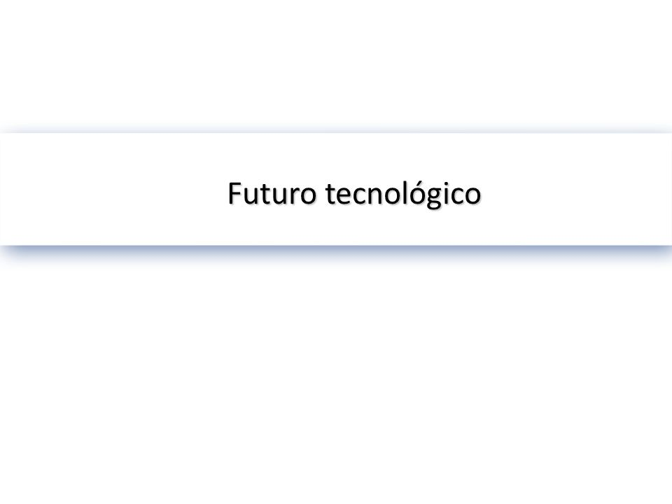 Futuro tecnológico © 2002 Microsoft Corporation. All rights reserved.