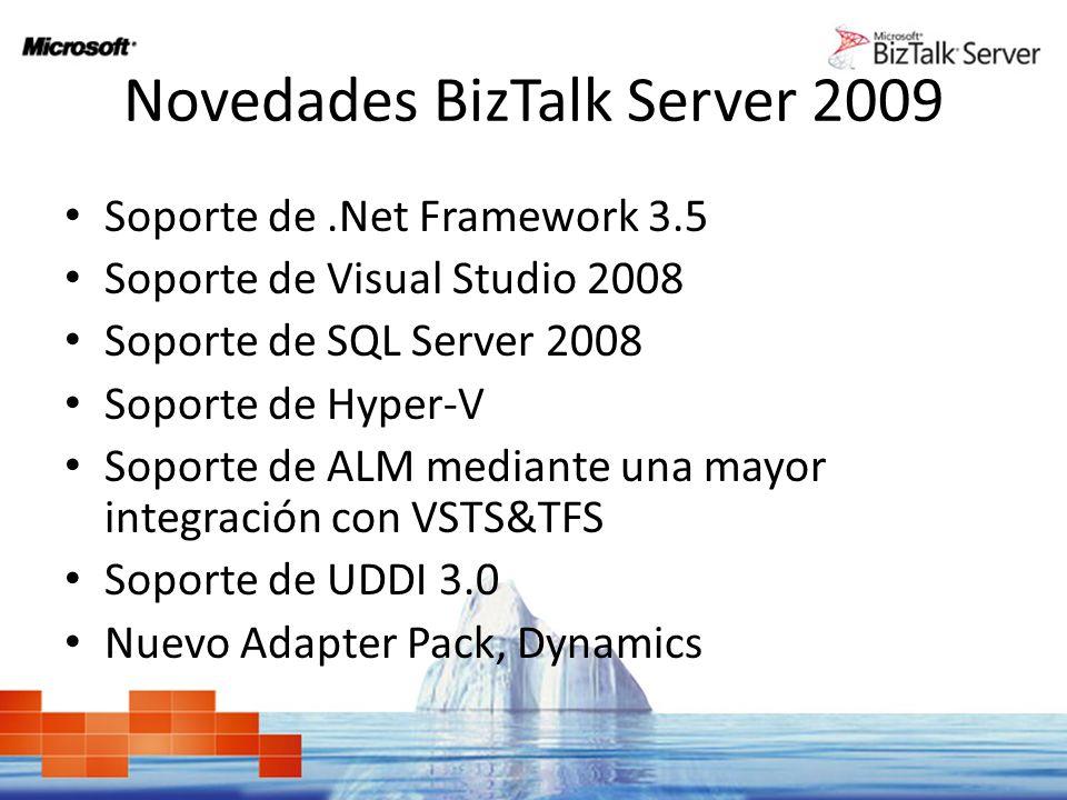 Novedades BizTalk Server 2009