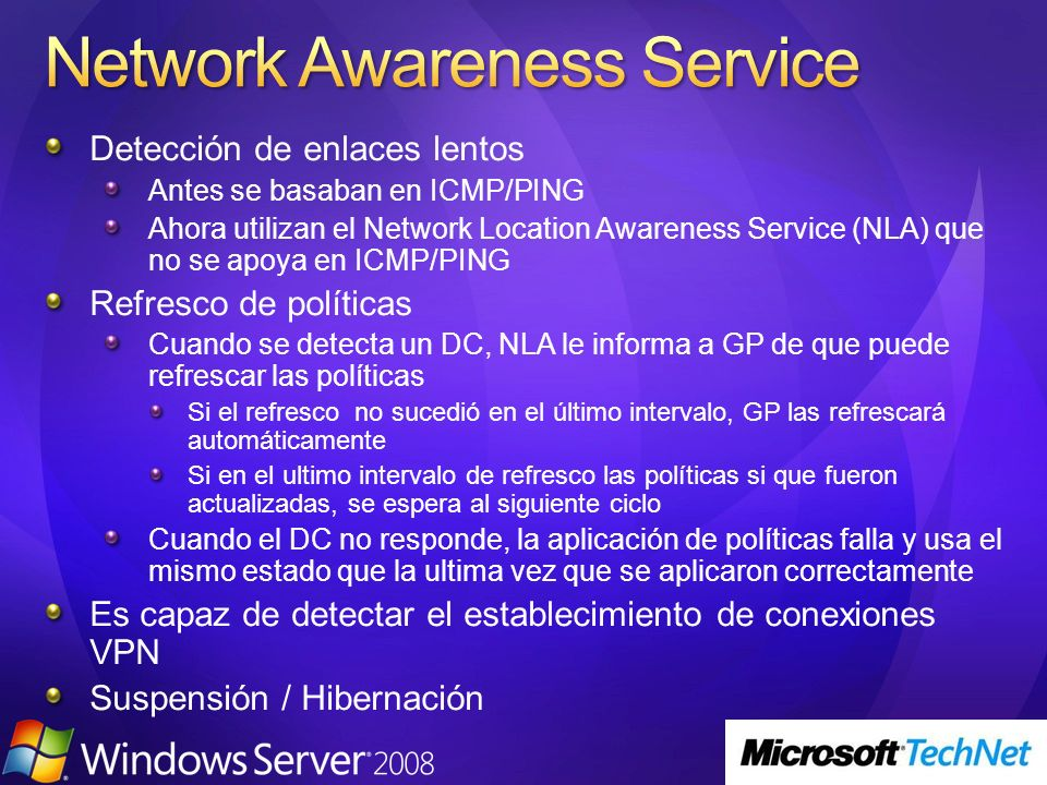 Network Awareness Service