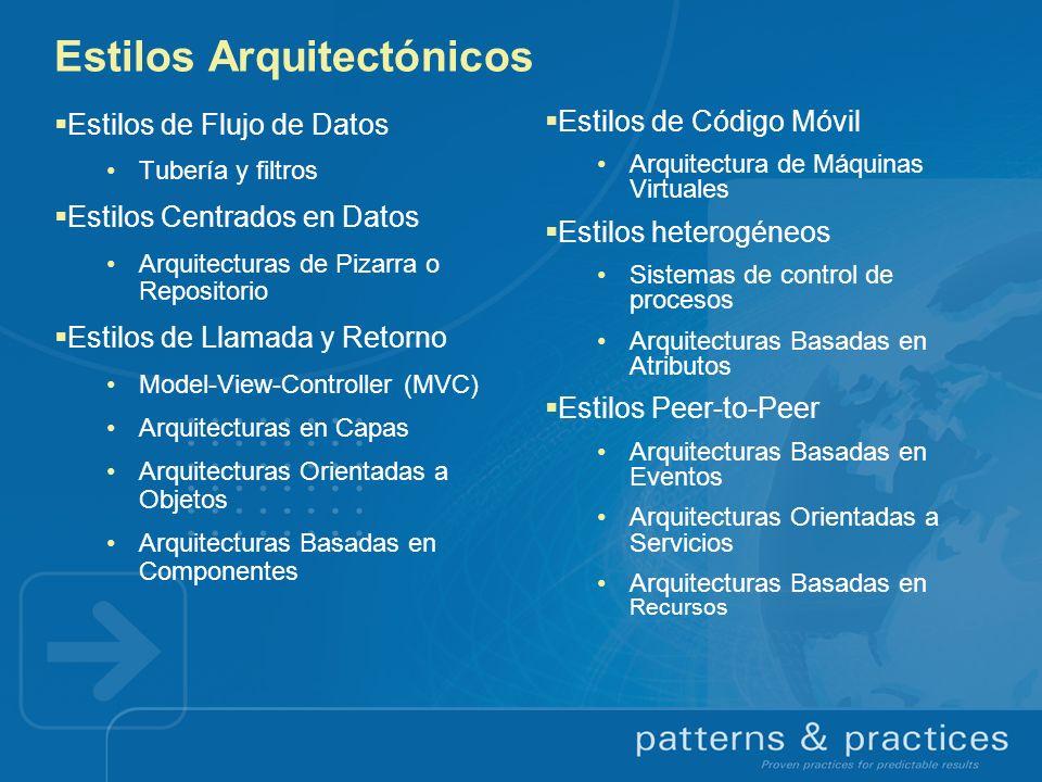 Estilos Arquitectónicos