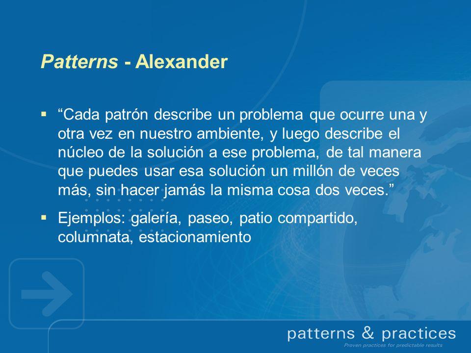Patterns - Alexander