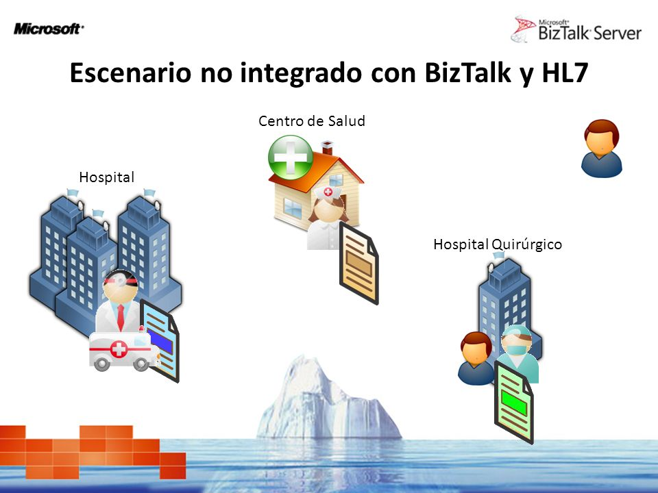 Escenario no integrado con BizTalk y HL7