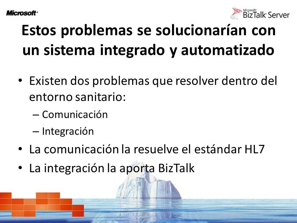 Estos problemas se solucionarían con un sistema integrado y automatizado