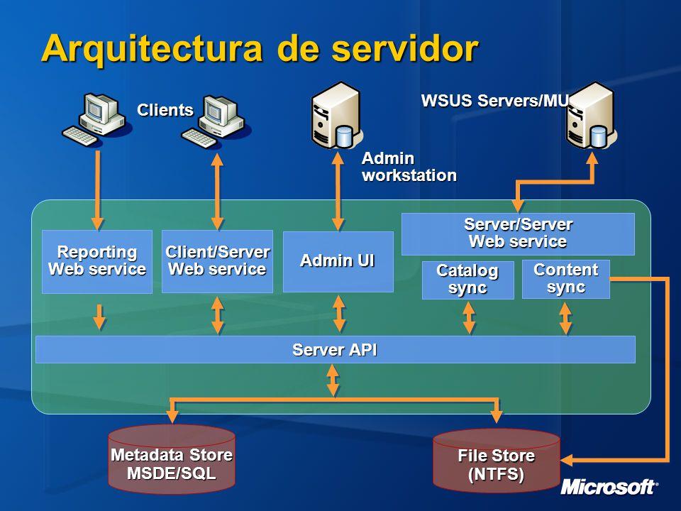 Arquitectura de servidor