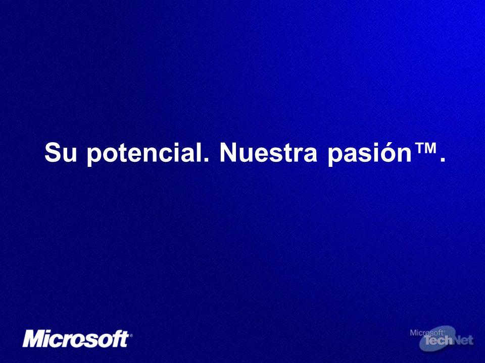 Su potencial. Nuestra pasión™.