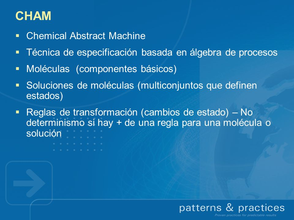 CHAM Chemical Abstract Machine