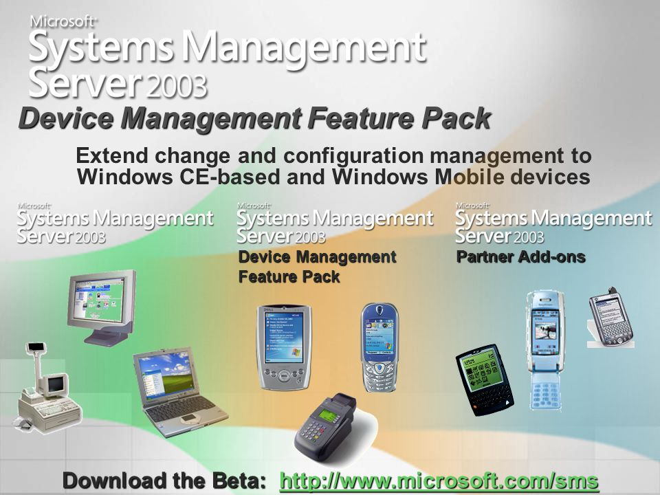 Device Management Feature Pack