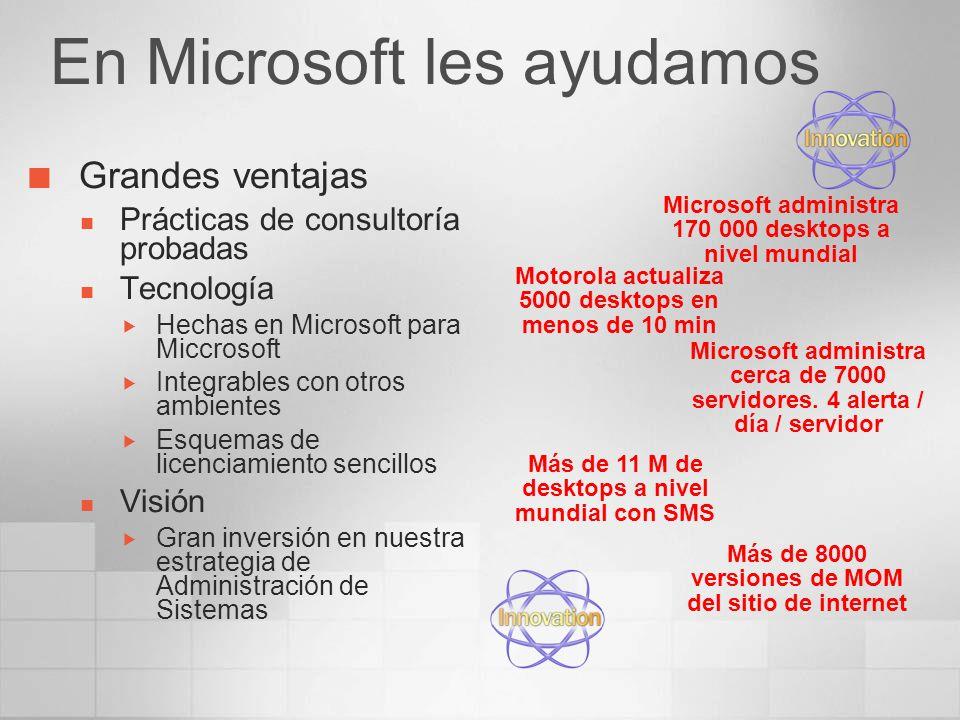 En Microsoft les ayudamos