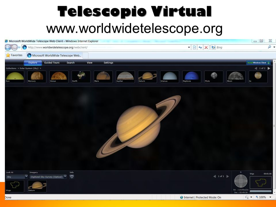 Telescopio Virtual