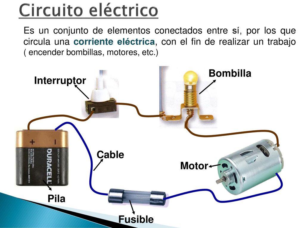 Circuito Que Tenga Un Interruptor Una Pila Y Una Bombilla : Departamento de tecnología ppt descargar