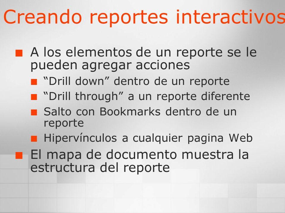 Creando reportes interactivos