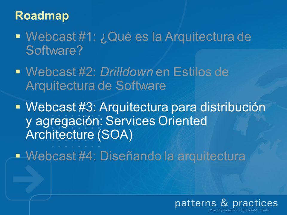 Webcast #1: ¿Qué es la Arquitectura de Software