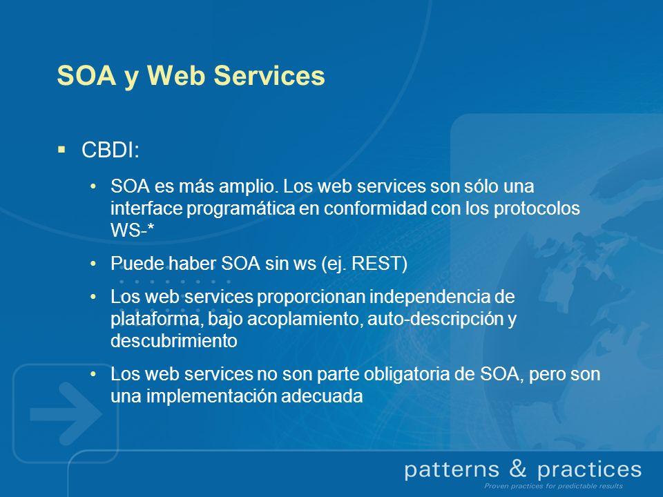 SOA y Web Services CBDI: