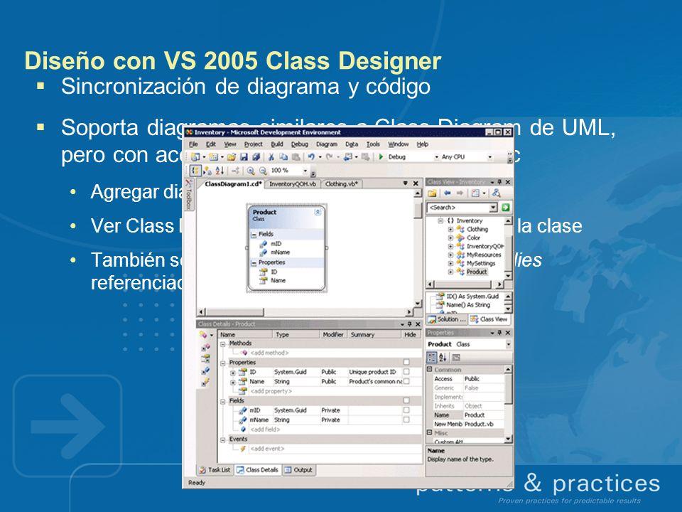 Diseño con VS 2005 Class Designer