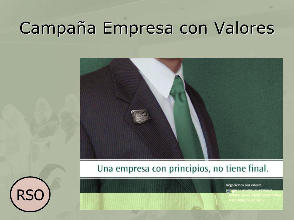 Campaña Empresa con Valores