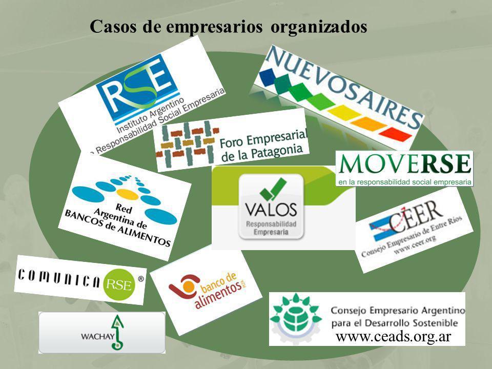 Casos de empresarios organizados