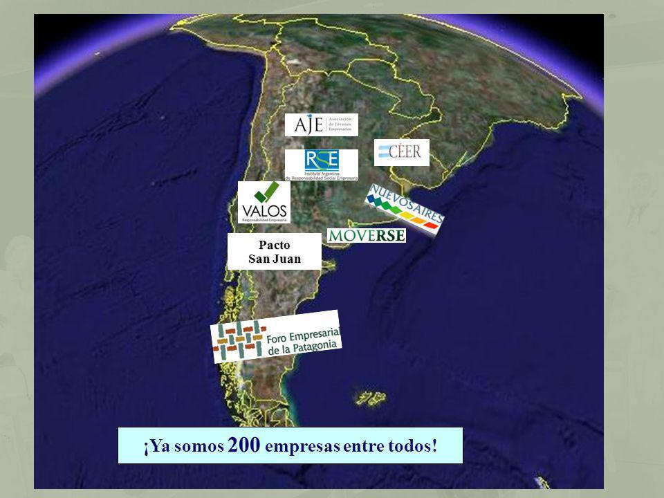 ¡Ya somos 200 empresas entre todos!