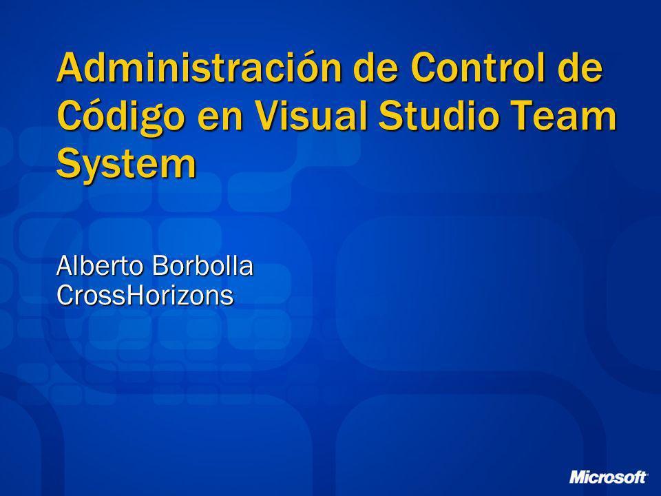 Administración de Control de Código en Visual Studio Team System