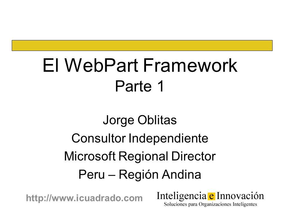 El WebPart Framework Parte 1
