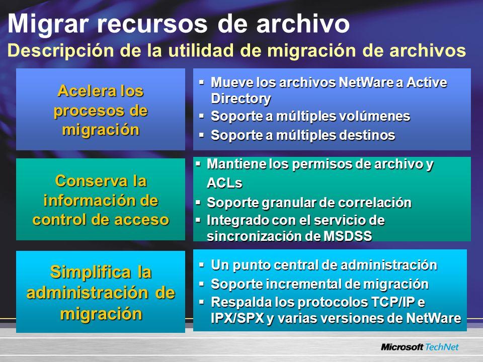 Migrar recursos de archivo Descripción de la utilidad de migración de archivos