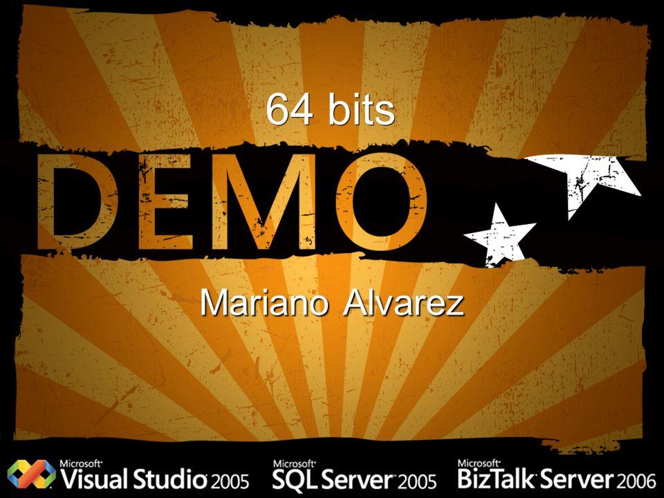 64 bits Mariano Alvarez