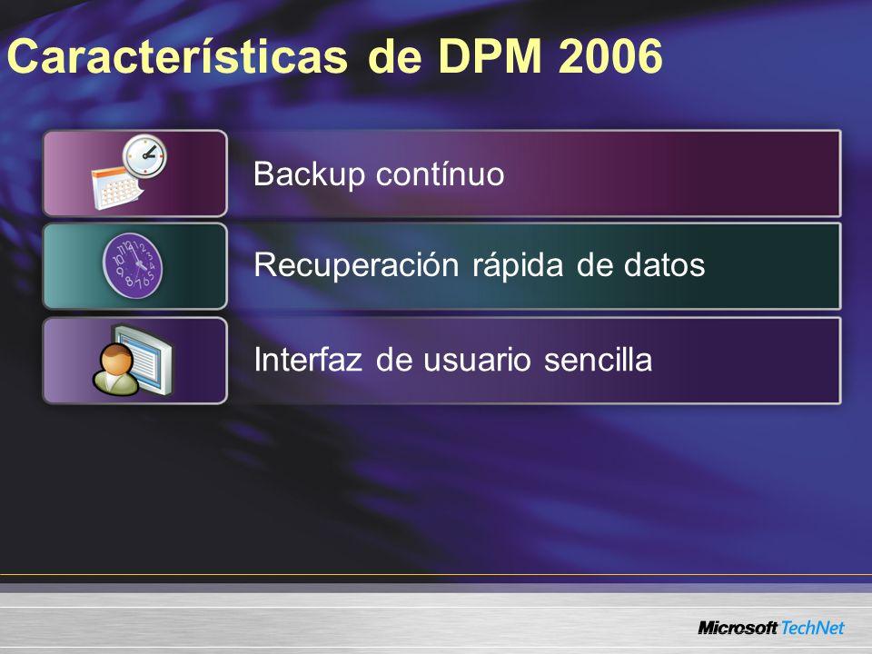 Características de DPM 2006