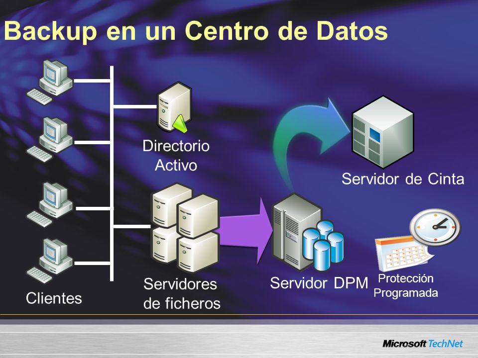Backup en un Centro de Datos