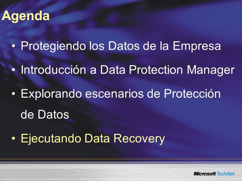 Agenda Protegiendo los Datos de la Empresa