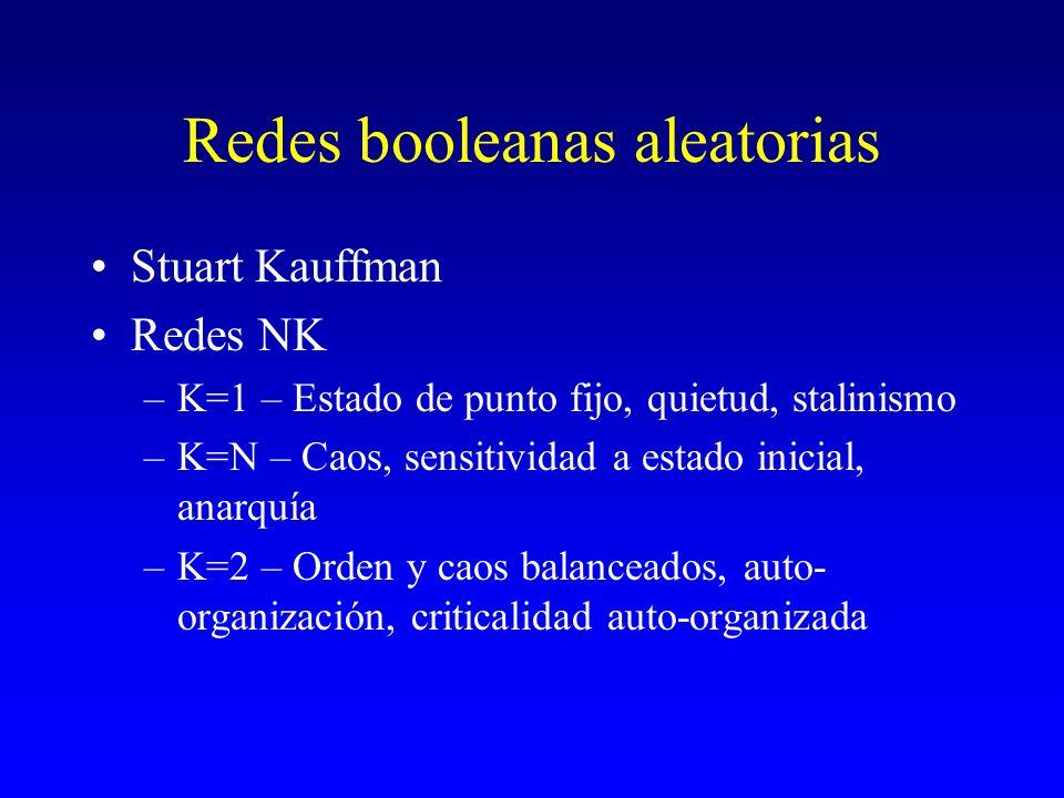 Redes booleanas aleatorias