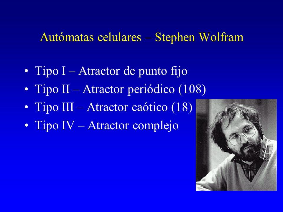 Autómatas celulares – Stephen Wolfram