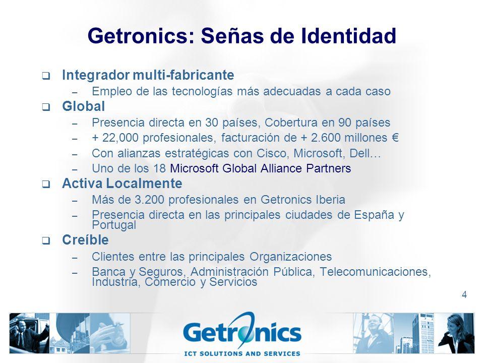 Getronics: Señas de Identidad