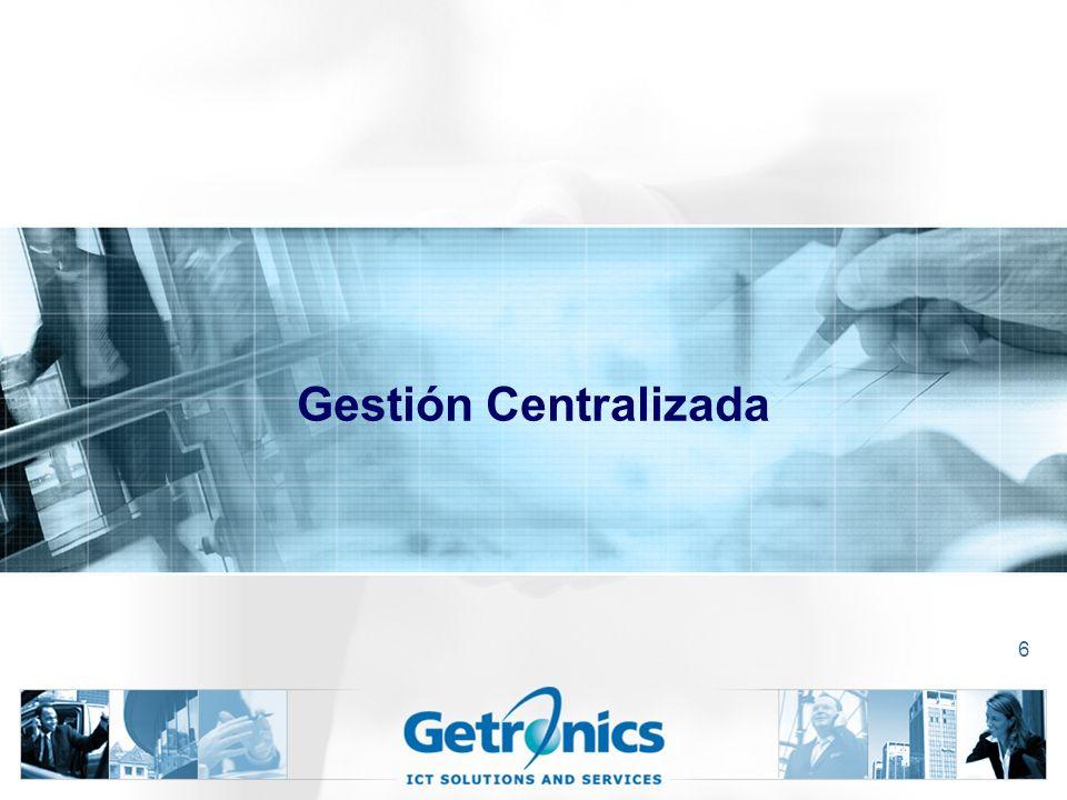 Gestión Centralizada