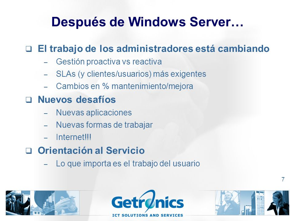Después de Windows Server…