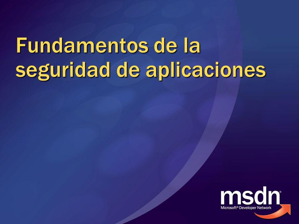 Fundamentos de la seguridad de aplicaciones