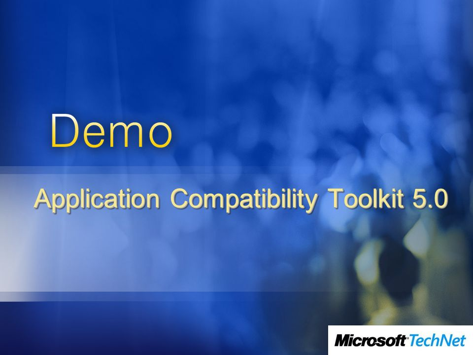 Application Compatibility Toolkit 5.0