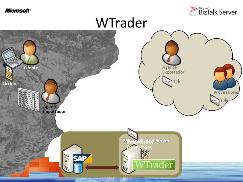 WTrader Ok Ok Orden Microsoft App Server Cliente Agente Exportador