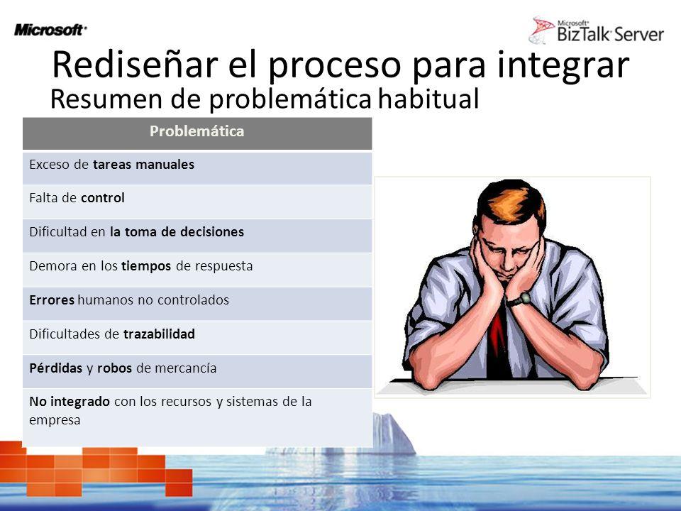 Rediseñar el proceso para integrar