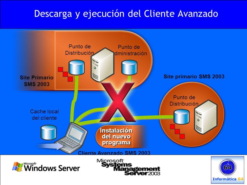 Descarga y ejecución del Cliente Avanzado