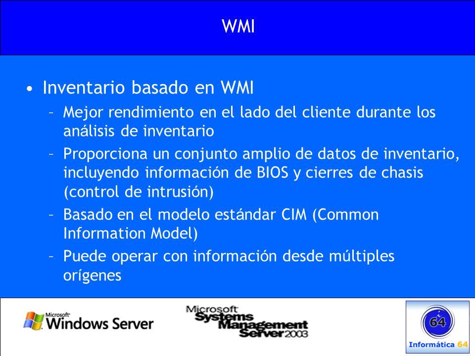 Inventario basado en WMI