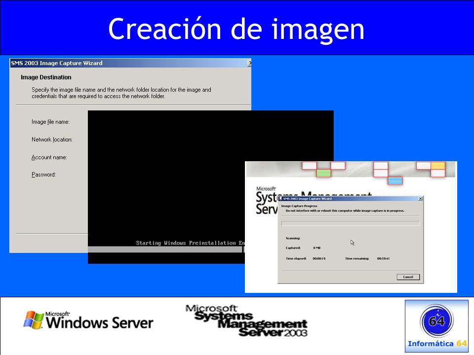 Creación de imagen