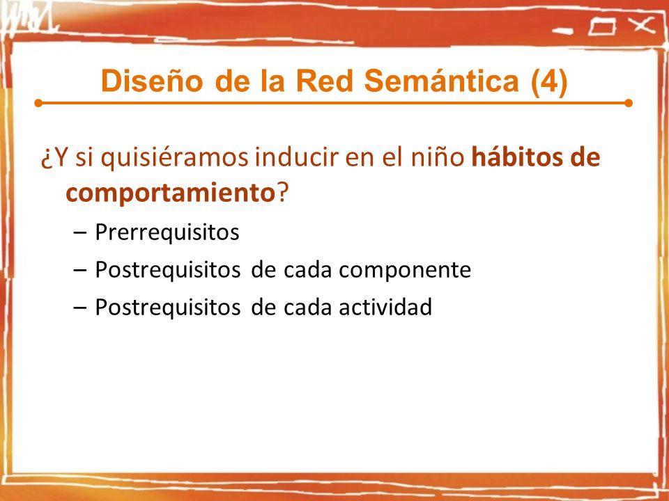 Diseño de la Red Semántica (4)