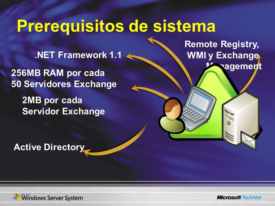 Prerequisitos de sistema