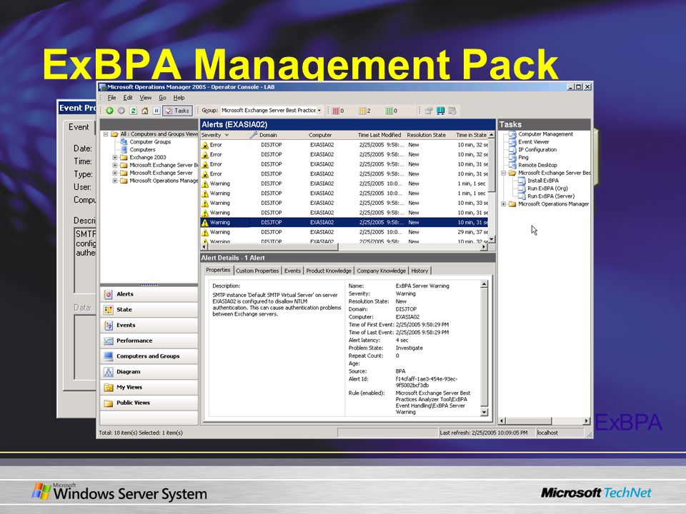 ExBPA Management Pack C:\Program Files\ExBPA