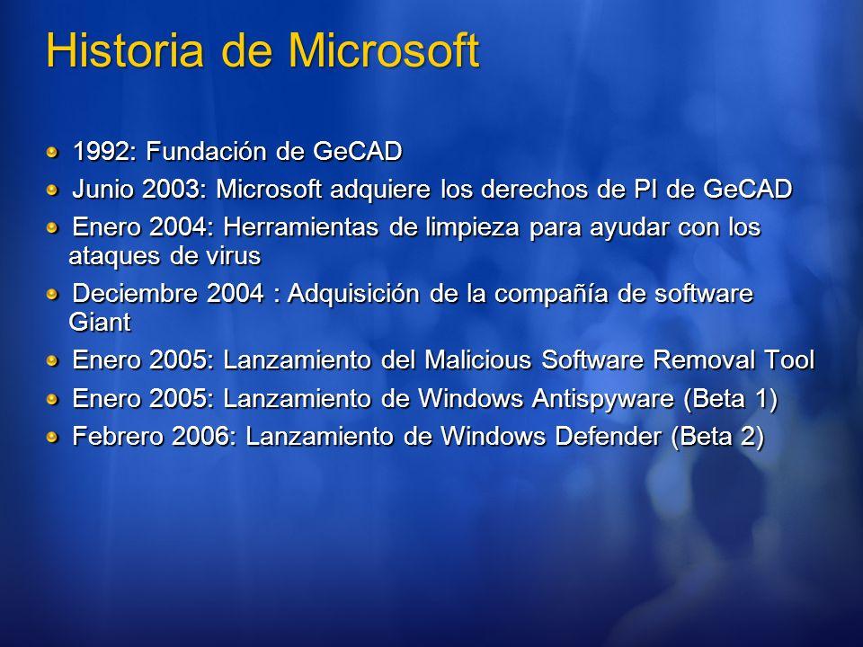 Historia de Microsoft 1992: Fundación de GeCAD