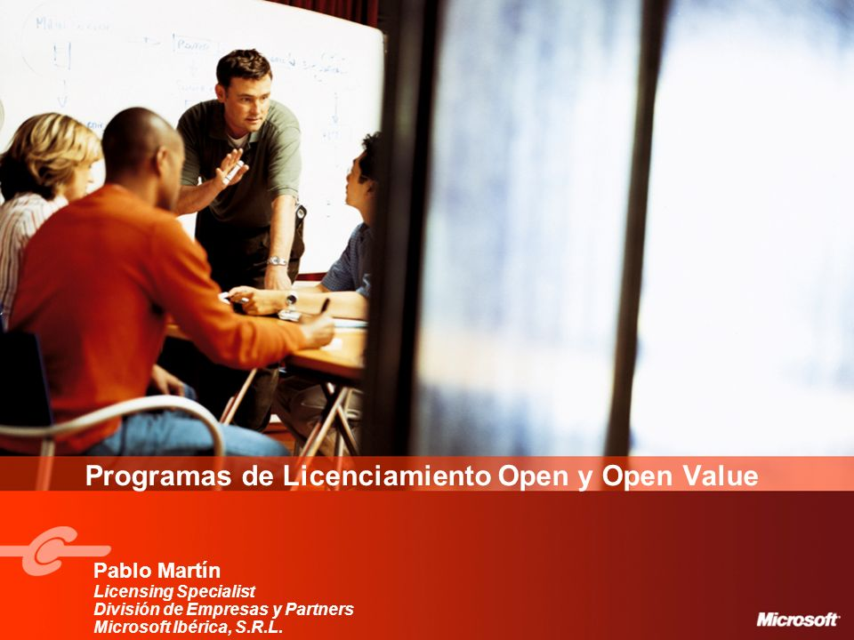 Programas de Licenciamiento Open y Open Value